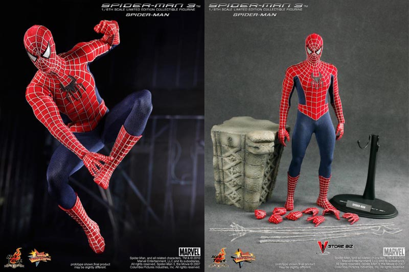 Hot Toys MMS143 Spider-Man 3 Spider-Man