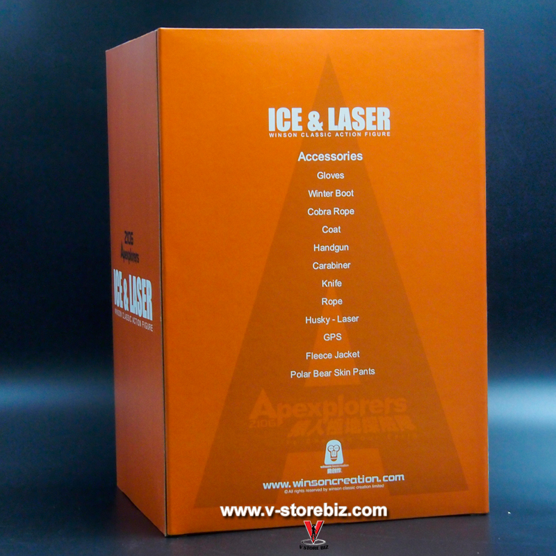 Hot Toys Apexplorers Ice & Laser Winson Classic Action Figure (Normal Version)