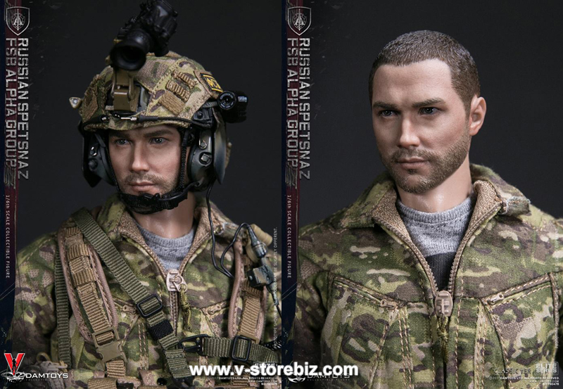 DAMToys 78047B Russian Spetnaz FSB Alpha Group (Classic Version)