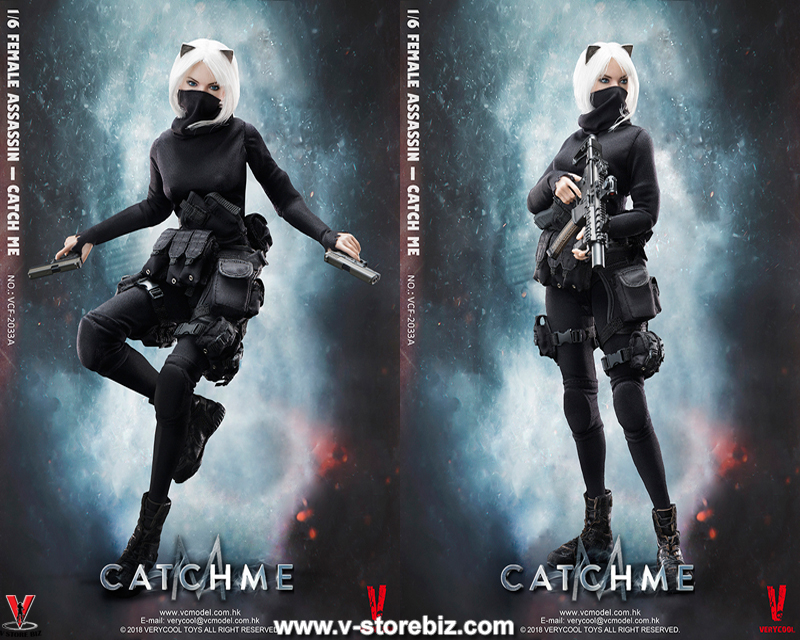 "Very Cool VCF2033A Female Assassin Series ""Catch Me"""