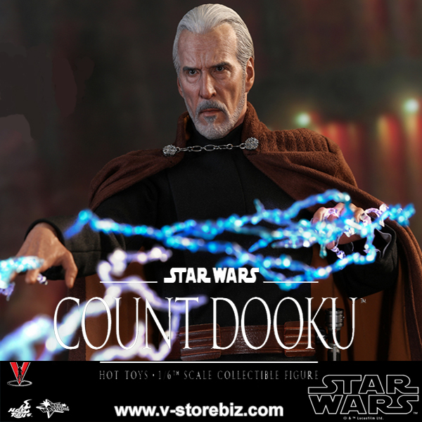 Hot Toys MMS496 Star Wars Episode II: Attack of the Clones Count Dooku