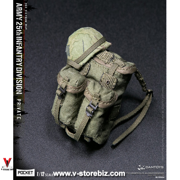 DAMToys PES004 Pocket Elite Series Army 25th Infantry Division Private