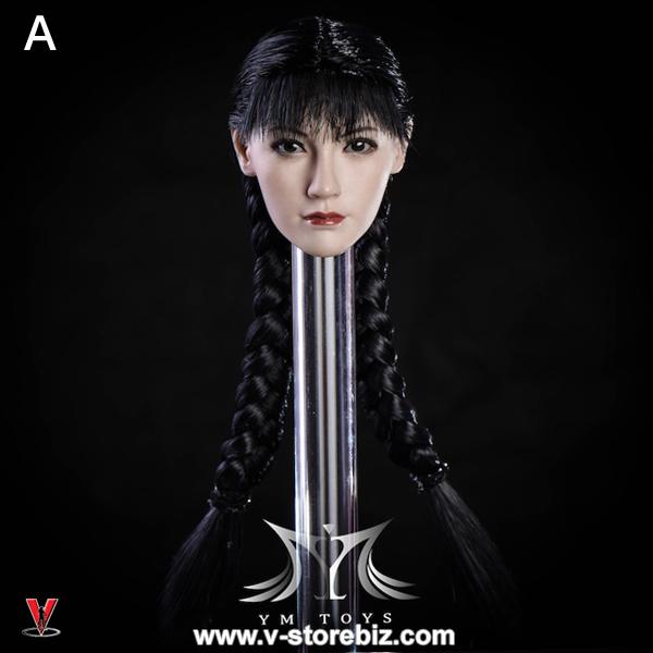 YMToys YMT08A Pale-Skin Female Headsculpt
