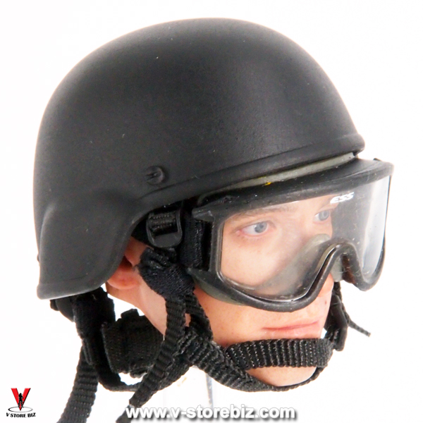 Soldier Story SS100 NYPD ESU MICH 2000 Helmet & Goggles
