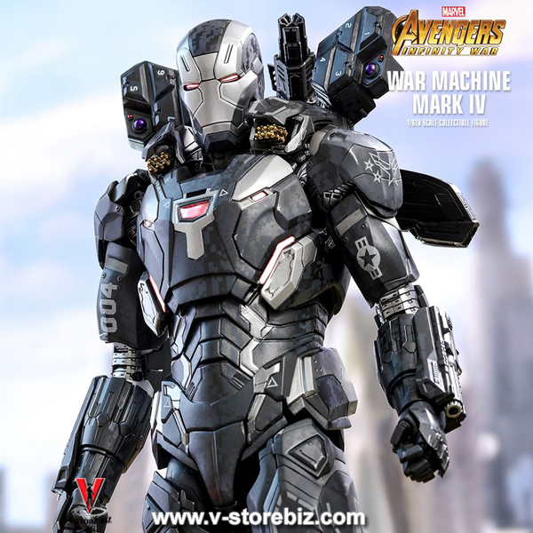 Hot Toys MMS499D26 Avengers: Infinity War War Machine Mark IV