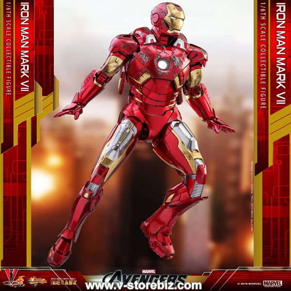 Hot Toys MMS500D27 The Avengers Iron Man Mark VII
