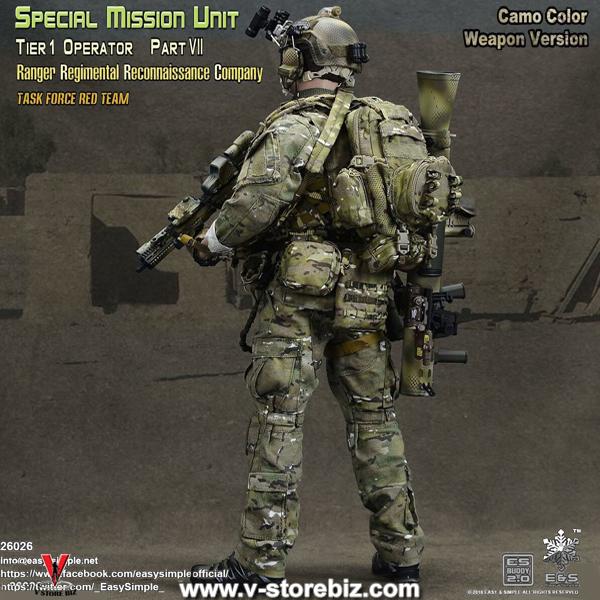 E&S 26026 SMU Part VII Ranger Regimental Reconnaissance Company (Camo)