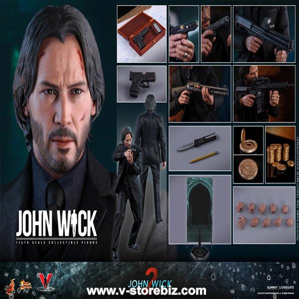 pants 1//6 scale Hot toys MMS504 John Wick