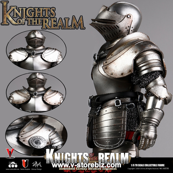 Warhammer for COOMODEL SE038 Knights Of The Realm 1//6 Scale Action Figure 12/'/'