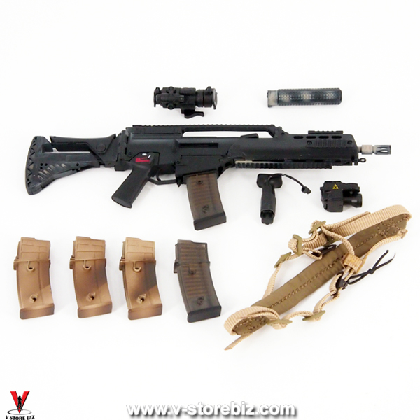 Soldier Story SS104 KSM VBSS G36K Assault Rifle & Accessories