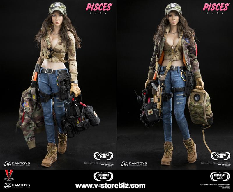 DAM DCG004 Combat Girl Series Pisces Lucy