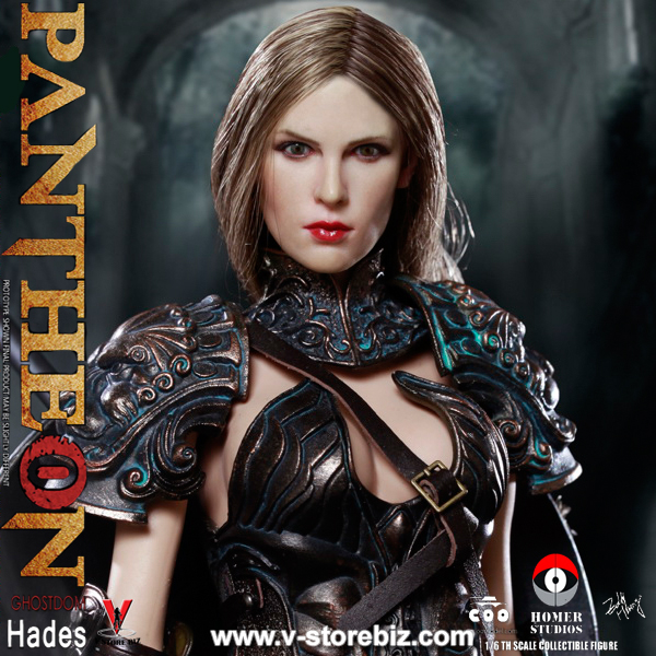 COOModels Pantheon Ghosidom Hades Hands x 4 loose 1//6th scale