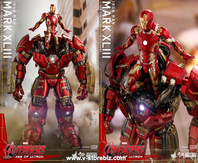 Hot Toys MMS278D09 Avengers: Age of Ultron Iron Man Mark XLIII (Reissue)