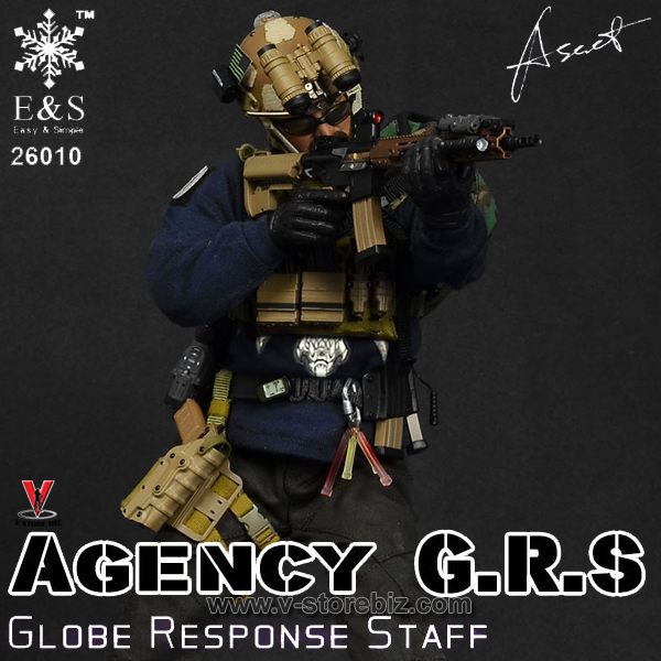 1//6 General/'s Armoury x Easy Simple Global Response XTM Style Hand Stop Grip TOY