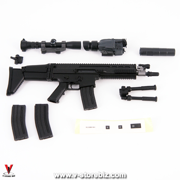 E&S 26010 Agency GRS SCAR Mk.16 Rifle & Accessories