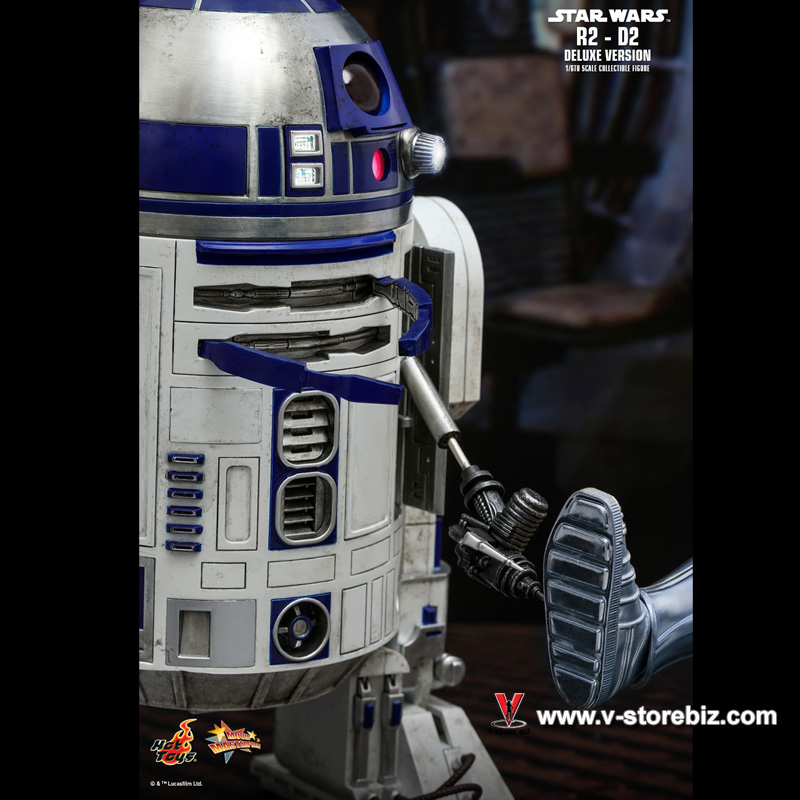 Hot Toys MMS511 Star Wars R2-D2 Deluxe Version