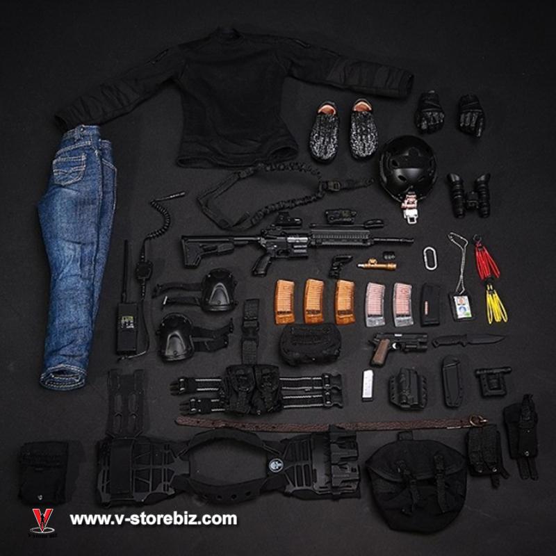 Mini Times M014 CIA Armed Agent (w/o Head & Body)