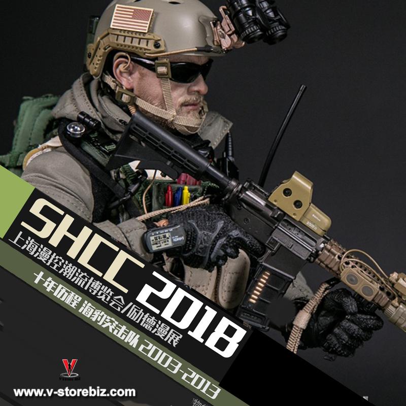 2018 SHCC DAMTOYS 78060 1//6 Decade Navy Seal 2003-2013 onLy Figure Head Sculpt