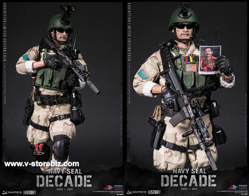 """DAMTOYS DAM 78060 1:6th 2018SHCC NAVY SEAL Vest model For 12/"""" Male Figure"""