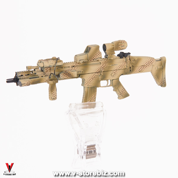 E&S 26026 Ranger RRC (Camo) MK17 Assault Rifle & Accessories