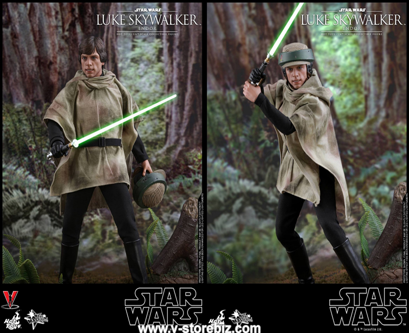 Hot Toys MMS516 Star Wars: Return of the Jedi Luke Skywalker (Endor)