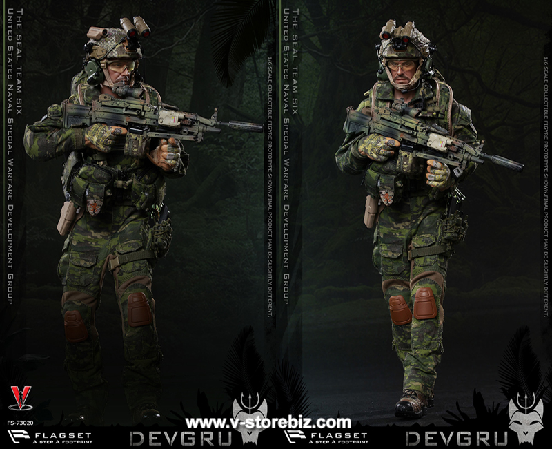 Camo Ground Cover 1//6 Scale DEVGRU Jungle Dagger Flagset Action Figures