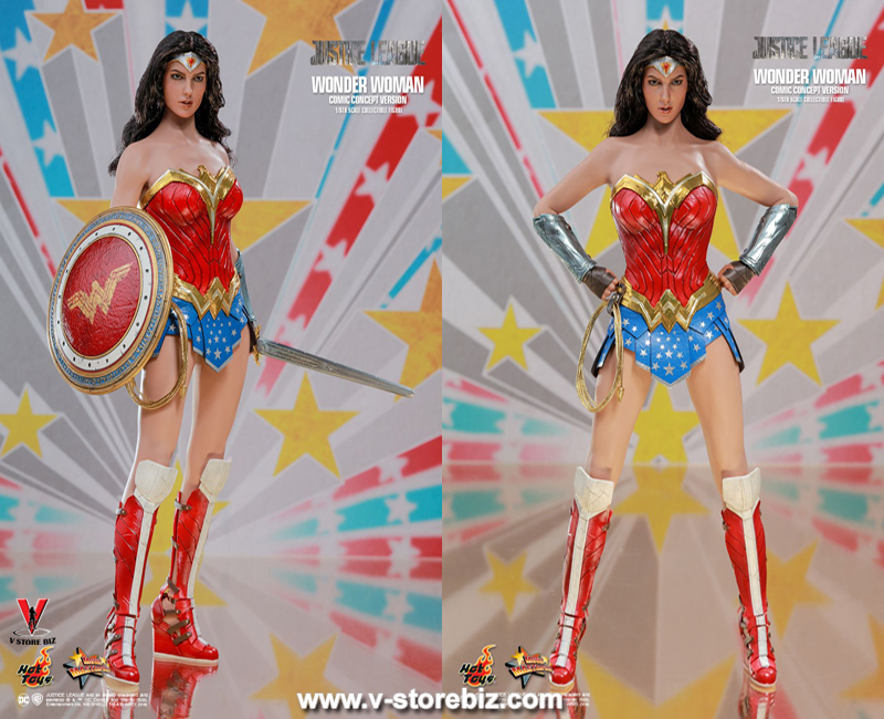 Hot Toys MMS506 Justice League Wonder Woman (Comic Concept Version)