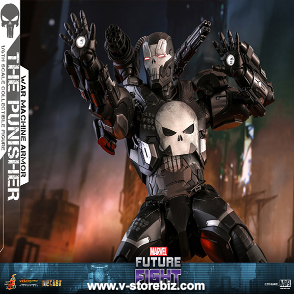 Hot Toys VGM33D28 Marvel Future Fight The Punisher (War Machine Armor)