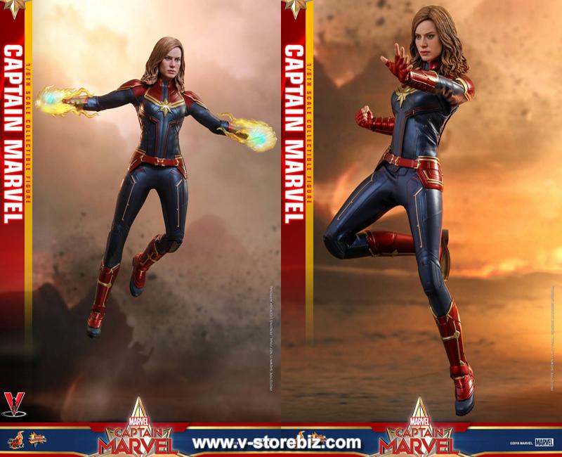 Hot Toys 1//6 MMS521 Captain Marvel Captain Marvel