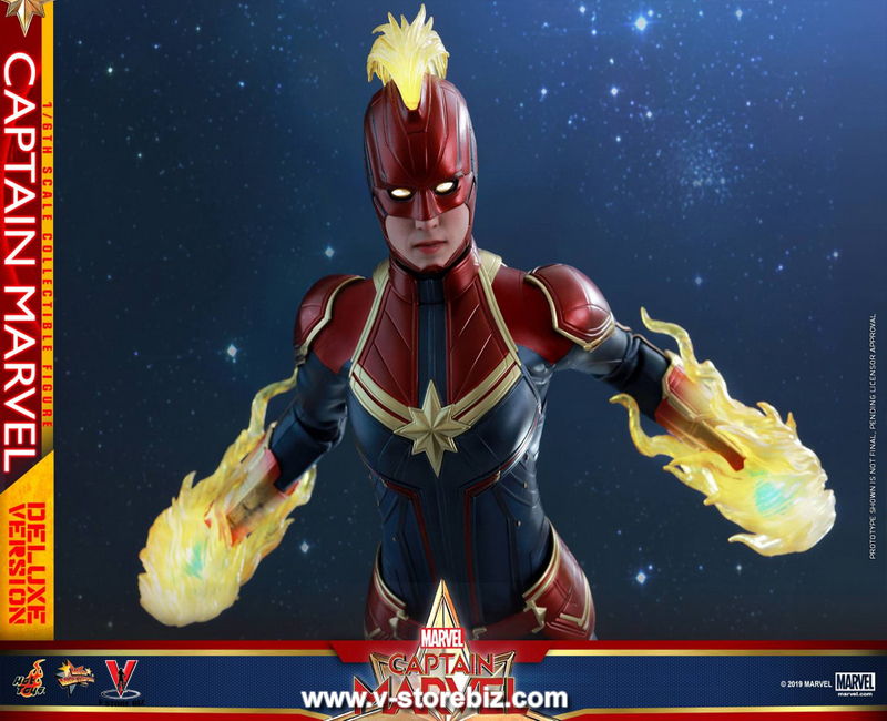 Hot Toys MMS522 Captain Marvel (Deluxe Version)
