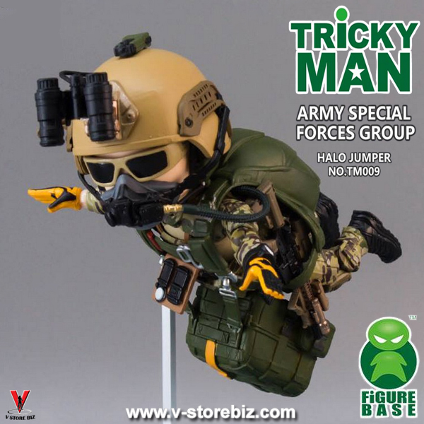 Figurebase Trickyman TM009 Army Special Forces HALO Jumper