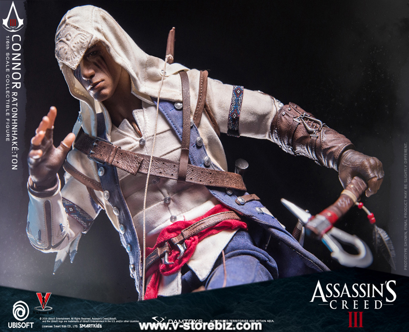 DAMToys DMS010 Assassin's Creed III Connor