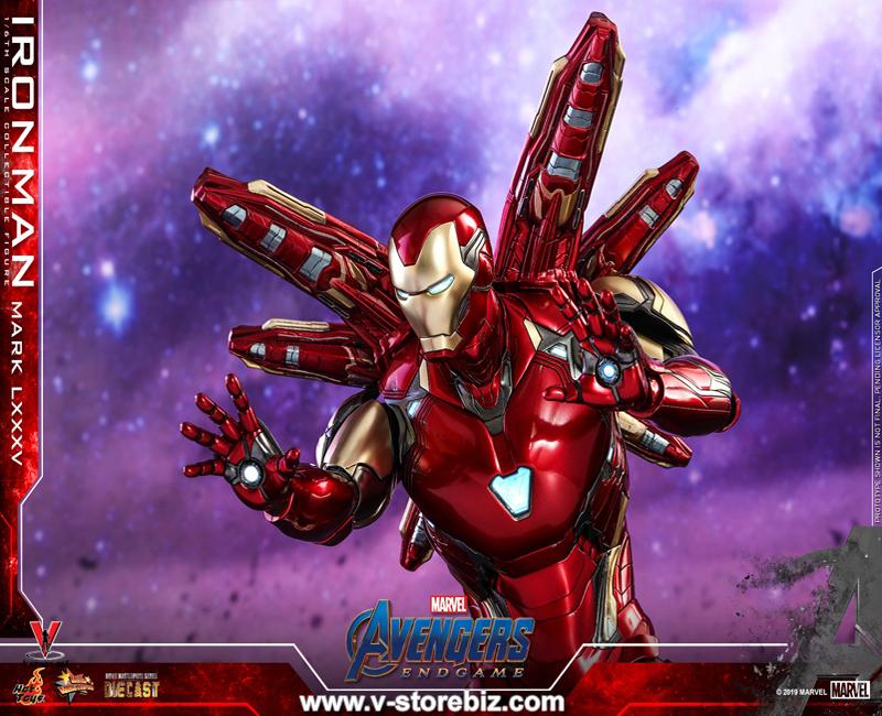 Hot Toys MMS528D30 Avengers: Endgame Iron Man Mark LXXXV