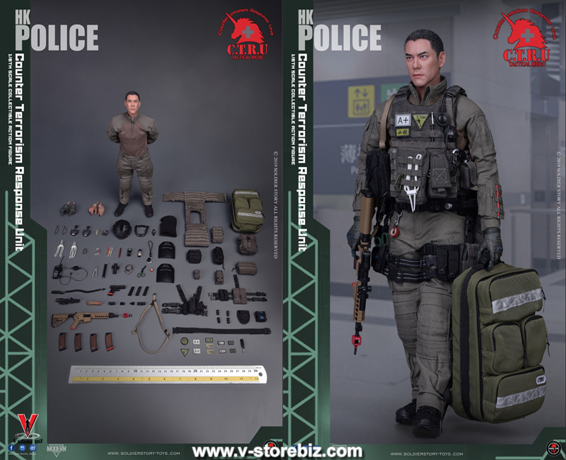 Soldier Story SS116 Hong Kong Police CTRU Tactical Medic