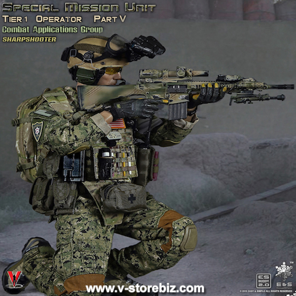 EASY/&SIMPLE ES 26020S 1//6 Tier1 SMU Part V Assault Team Sharpshooter Action Body