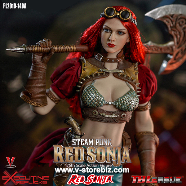 1//6 Scale Phicen Red Sonja Small Dagger /& Sheath Set TBLeague
