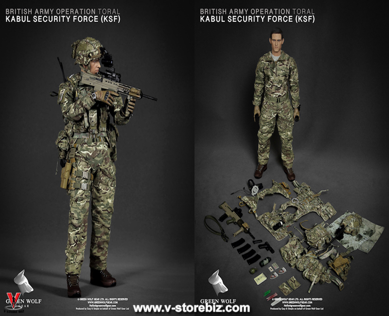 Green Wolf Gear GWG009 British Army KSF (Kabul Security Force)
