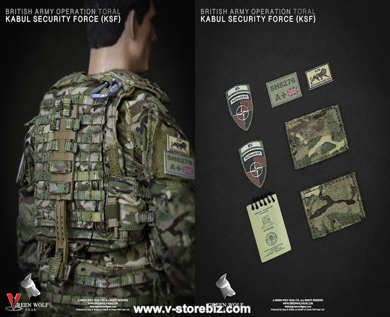 Green Wolf Gear GWG009 British Army KSF (Kabul Security Force)