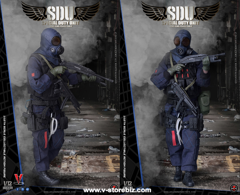 Soldier Story SSM002 Hong Kong SDU Assaulter