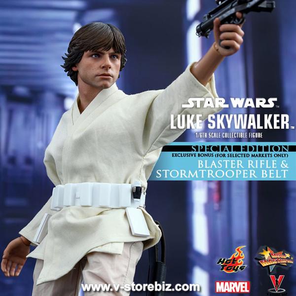 Hot Toys MMS297 Star Wars: Episode IV A New Hope Luke Skywalker (Exclusive)