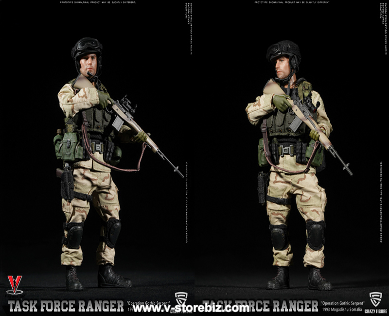 "Crazy Figure LW006 US Delta Force M-14 Sniper ""Operation Gothic Serpent"""