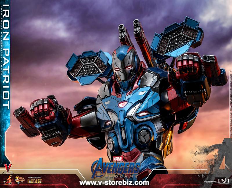 Hot Toys MMS547D34 Avengers: Endgame Iron Patriot