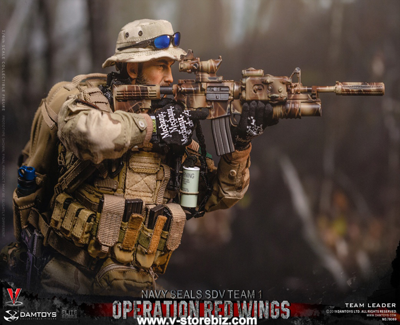 DAM 78069 Operation Red Wings Navy SEAL SDV-1 Team Leader