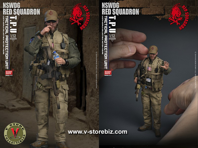 Soldier Story SSM001 NSWDG Tactical Protection Unit Std Ver Expo Exclusive