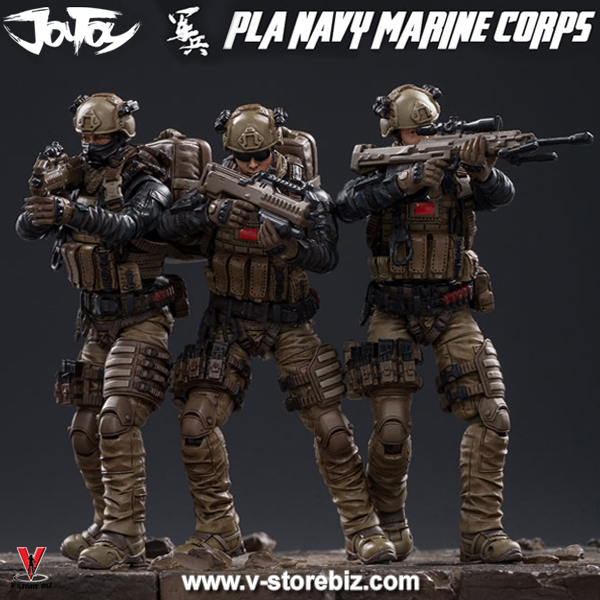 JoyToy JTCN001 PLA Marine Corps External Combat Team (Set of 3)
