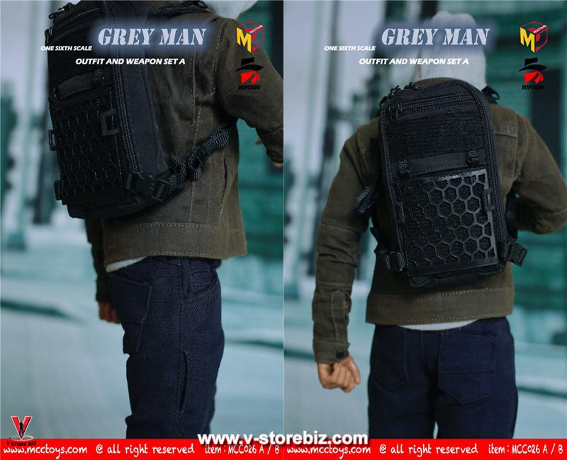 MCCTOYS MCC026A GREYMAN Outfit & Weapon