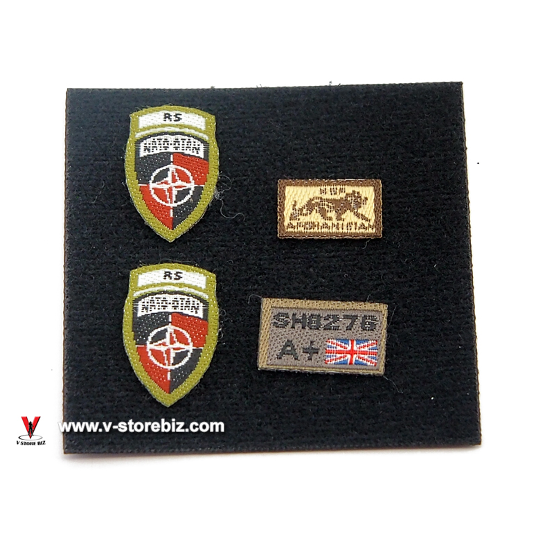 Green Wolf Gear GWG009 British Army KSF Patches