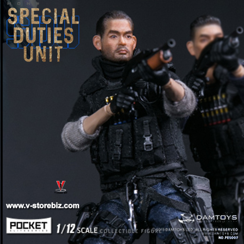 DAMToys PES007 1/12 Pocket Elite Series Hong Kong SDU FAI Sir