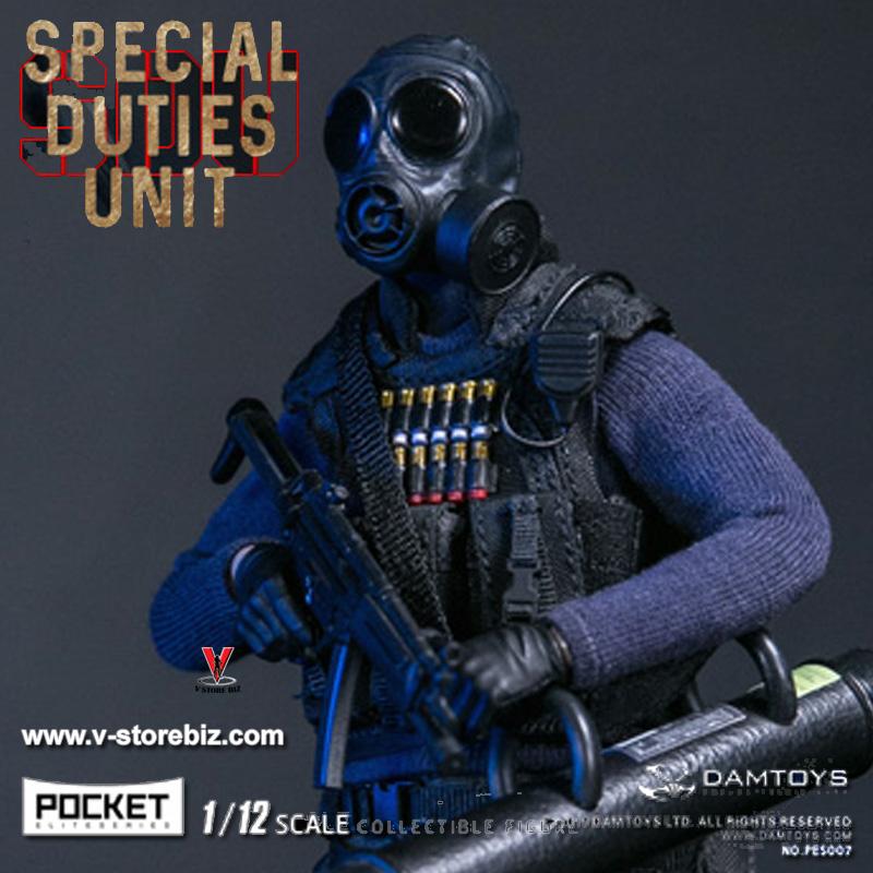 DAMToys PES008 1/12 Pocket Elite Series Hong Kong SDU SAM Sir