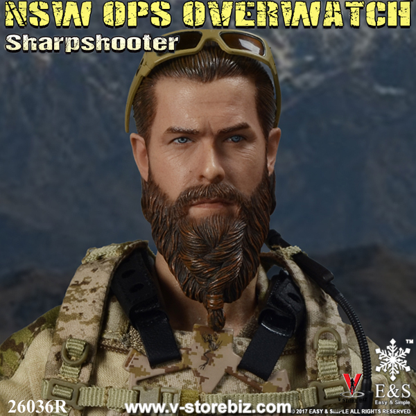 EASY/&SIMPLE ES 26036R 1//6 NSW OPS OVERWATCH Sharpshooter Action Body /& T-shirt
